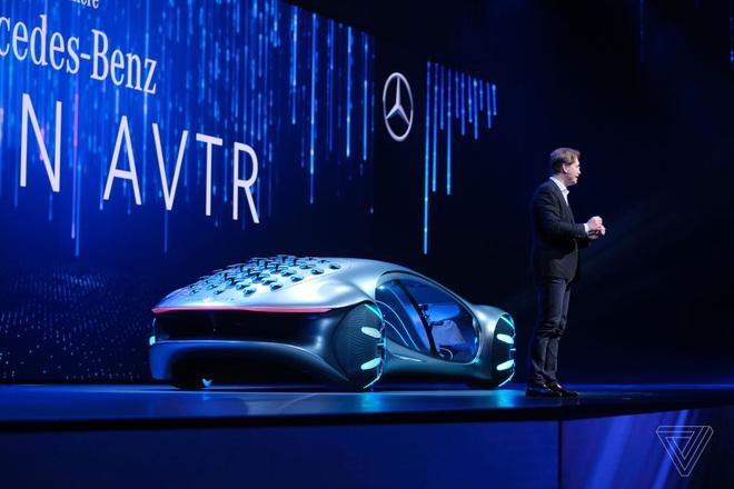 [CES 2020] Mercedes ra mắt concept xe của tương lai, lấy cảm hứng từ bộ phim Avatar - Ảnh 3.