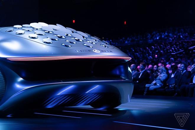 [CES 2020] Mercedes ra mắt concept xe của tương lai, lấy cảm hứng từ bộ phim Avatar - Ảnh 4.