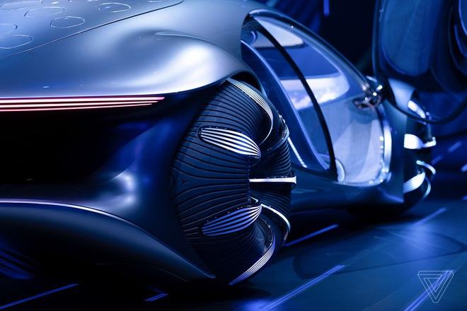 [CES 2020] Mercedes ra mắt concept xe của tương lai, lấy cảm hứng từ bộ phim Avatar - Ảnh 5.