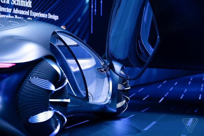 [CES 2020] Mercedes ra mắt concept xe của tương lai, lấy cảm hứng từ bộ phim Avatar - Ảnh 6.