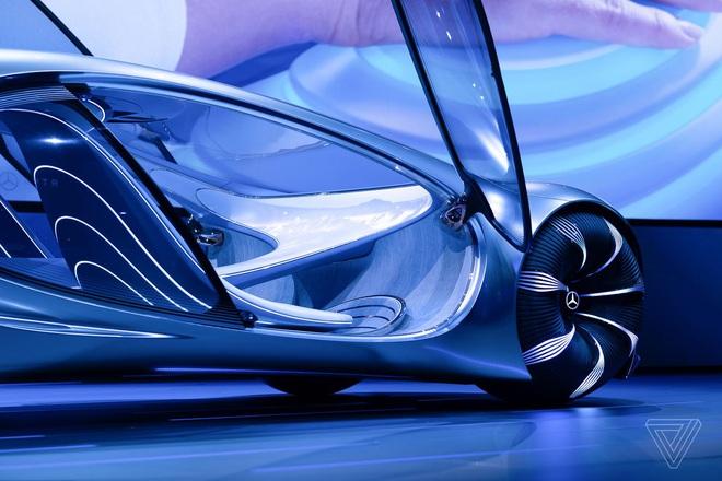 [CES 2020] Mercedes ra mắt concept xe của tương lai, lấy cảm hứng từ bộ phim Avatar - Ảnh 7.