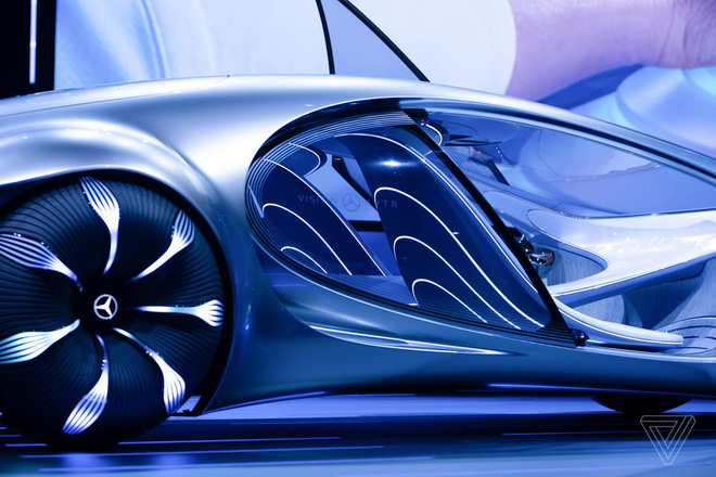 [CES 2020] Mercedes ra mắt concept xe của tương lai, lấy cảm hứng từ bộ phim Avatar - Ảnh 8.