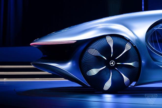[CES 2020] Mercedes ra mắt concept xe của tương lai, lấy cảm hứng từ bộ phim Avatar - Ảnh 9.