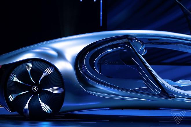 [CES 2020] Mercedes ra mắt concept xe của tương lai, lấy cảm hứng từ bộ phim Avatar - Ảnh 10.