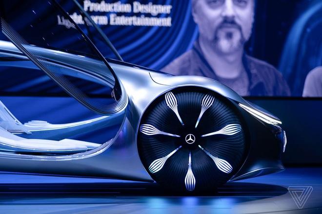 [CES 2020] Mercedes ra mắt concept xe của tương lai, lấy cảm hứng từ bộ phim Avatar - Ảnh 11.