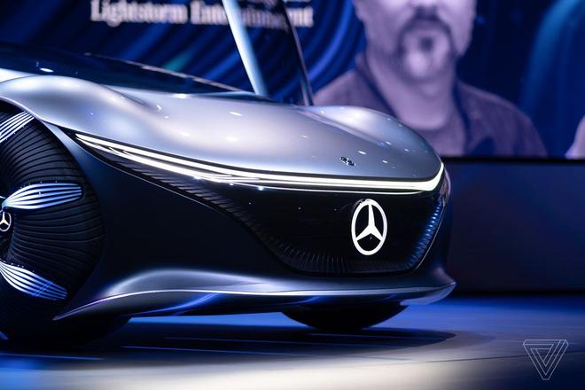 [CES 2020] Mercedes ra mắt concept xe của tương lai, lấy cảm hứng từ bộ phim Avatar - Ảnh 12.