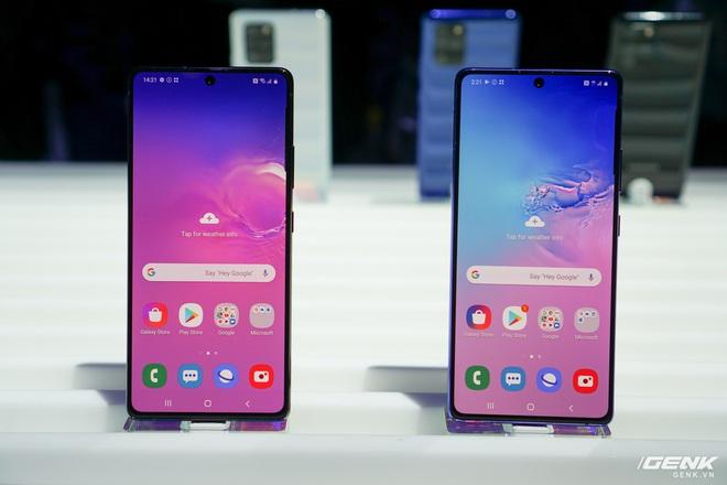 [CES 2020] Trên tay Galaxy S10 Lite và Galaxy Note 10 Lite: Hai thiết bị vô cùng kỳ quặc từ Samsung - Ảnh 2.