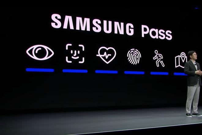 Samsung sao chép y nguyên biểu tượng Face ID của Apple - Ảnh 1.
