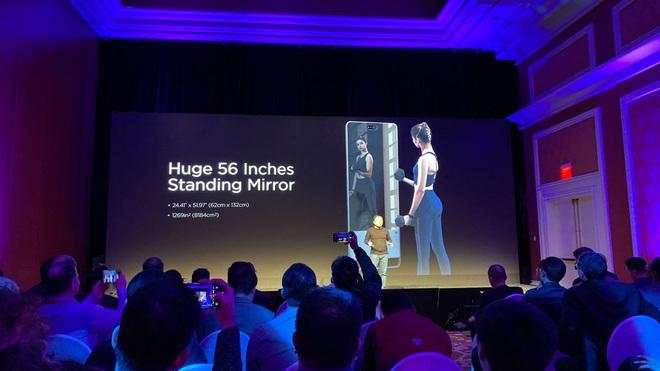 [CES 2020] Amazfit HomeStudio: phòng gym tại gia với gương soi 56-inch, màn hình 43-inch, camera 3D - Ảnh 3.
