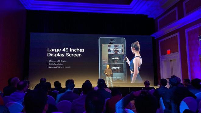 [CES 2020] Amazfit HomeStudio: phòng gym tại gia với gương soi 56-inch, màn hình 43-inch, camera 3D - Ảnh 5.
