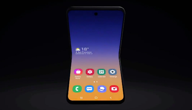 Smartphone màn hình gập vỏ sò của Samsung sẽ chỉ có giá bằng 1/2 Motorola RAZR, nhưng không phải Galaxy Fold 2 cao cấp - Ảnh 1.