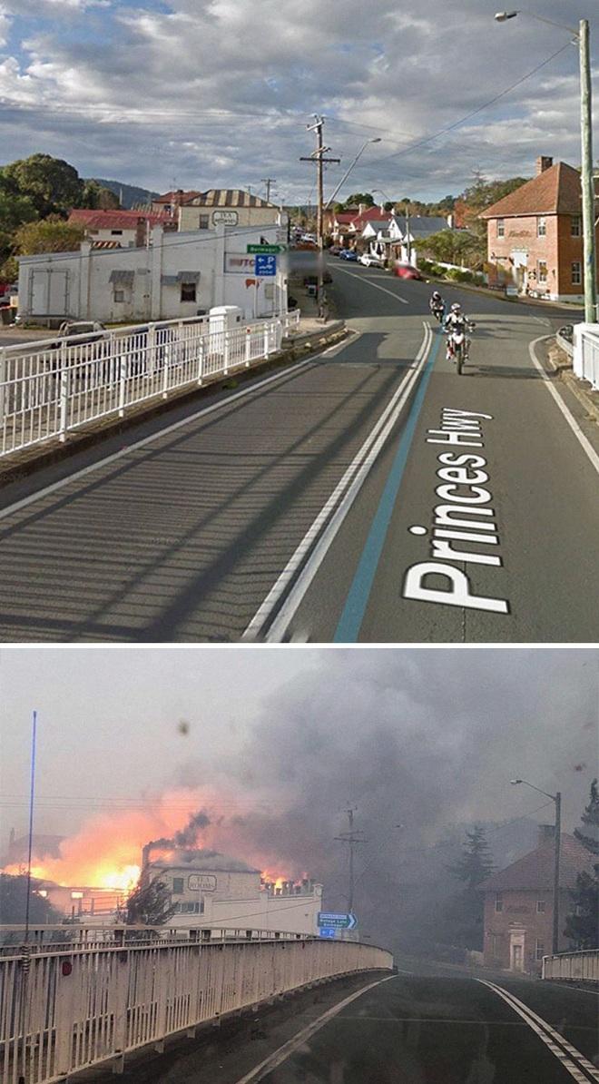 Chùm ảnh đau lòng: Nước Úc trước và sau khi ngọn lửa hung tàn quét qua - Ảnh 16.