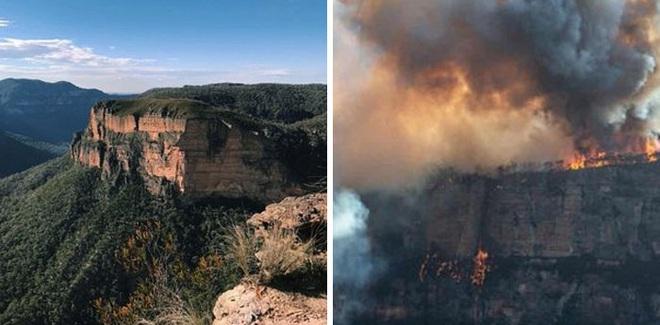 Chùm ảnh đau lòng: Nước Úc trước và sau khi ngọn lửa hung tàn quét qua - Ảnh 6.