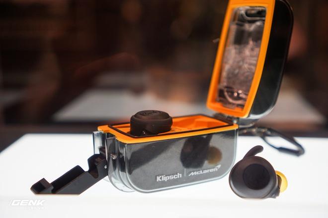 [CES 2020] Trên tay những cặp tai nghe hầm hố của Klipsch hợp tác với hãng xe McLaren - Ảnh 7.