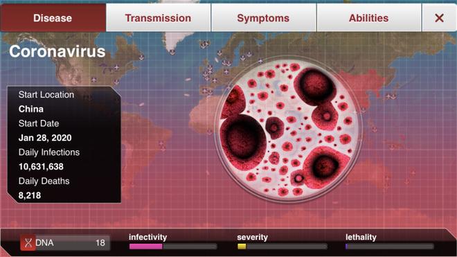 Giữa cơn bão dịch cúm Corona, tựa game Plague Inc. một lần nữa đón nhận một lượng người chơi khổng lồ - Ảnh 4.