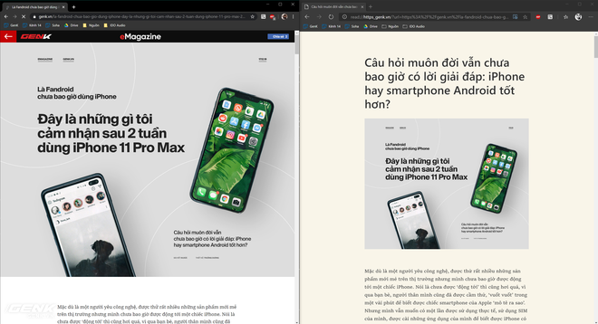 Trải nghiệm Microsoft Edge nhân Chromium: Sự thay thế hoàn hảo cho Google Chrome? - Ảnh 16.