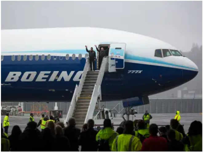 777X: flagship khổng lồ mới của Boeing vừa thực hiện thành công chuyến bay đầu tiên - Ảnh 26.