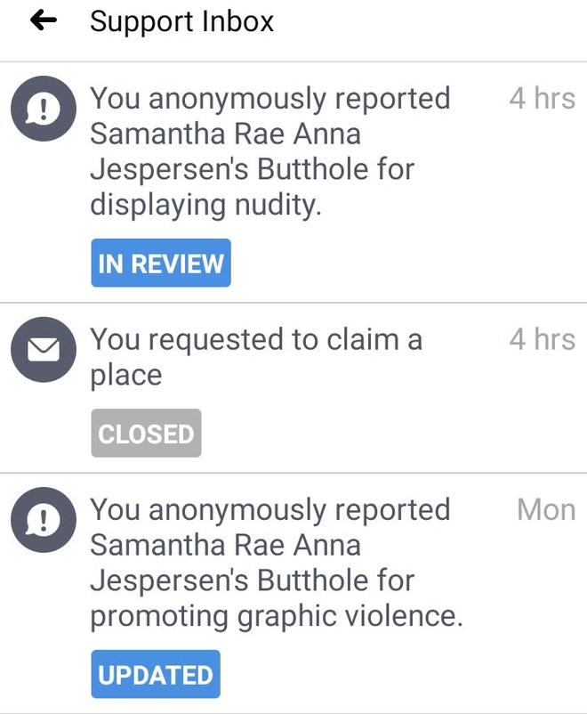 Cơn ác mộng khi Facebook liệt kê lỗ hậu của bạn là một địa chỉ doanh nghiệp trong suốt 8 năm trời - Ảnh 4.