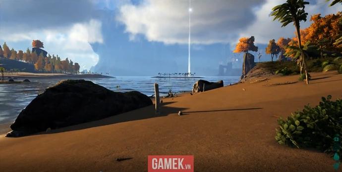 Hình ảnh khi mới vào game