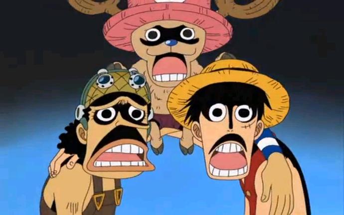 Luffy – Ussop – Chopper luôn là bộ 3 hài hước nhất của băng Mũ Rơm.