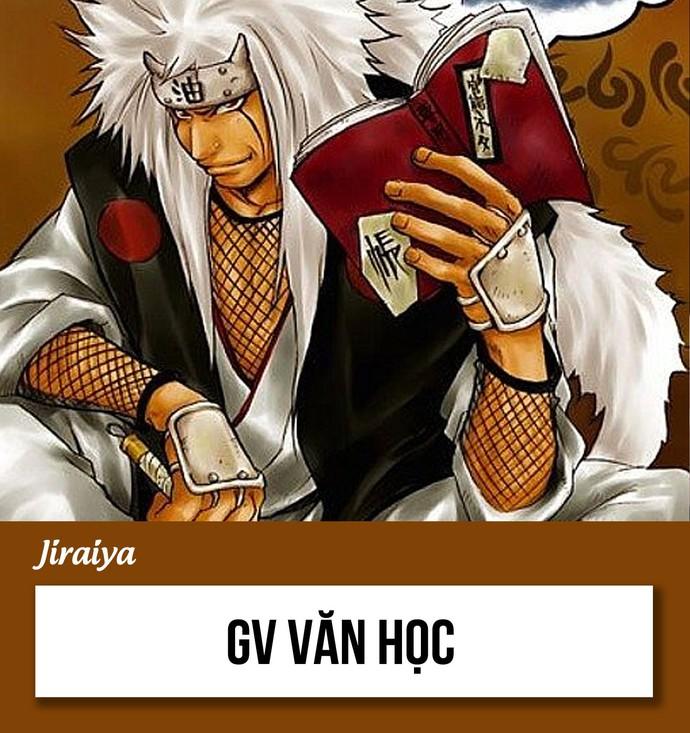 Khi các nhân vật trong Naruto bỏ làm ninja rủ nhau đi dậy học thì môn gì phù hợp với họ? - Ảnh 13.