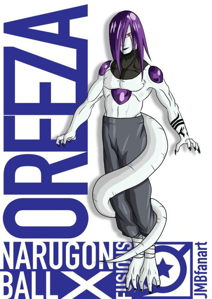 Freiza kết hợp với Orochimaru thành Oreiza.