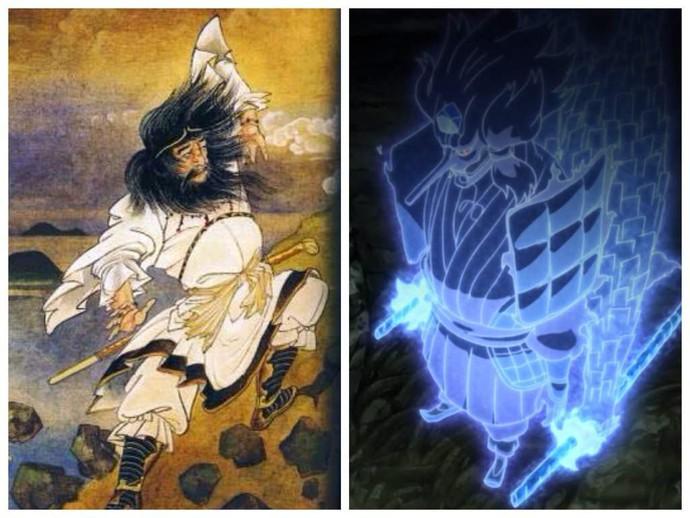 10 nhẫn thuật siêu mạnh trong Naruto được lấy cảm hứng từ thần thoại Nhật Bản (Phần 1) - Ảnh 9.