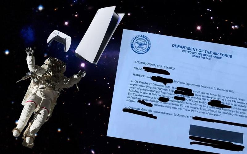 Thành viên của Lực lượng Không gian Mỹ bị giáng chức vì trốn buổi tập để đi mua PS5