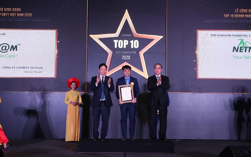 FPT Telecom được vinh danh Top 10 Doanh nghiệp Hạ tầng số hàng đầu Việt Nam