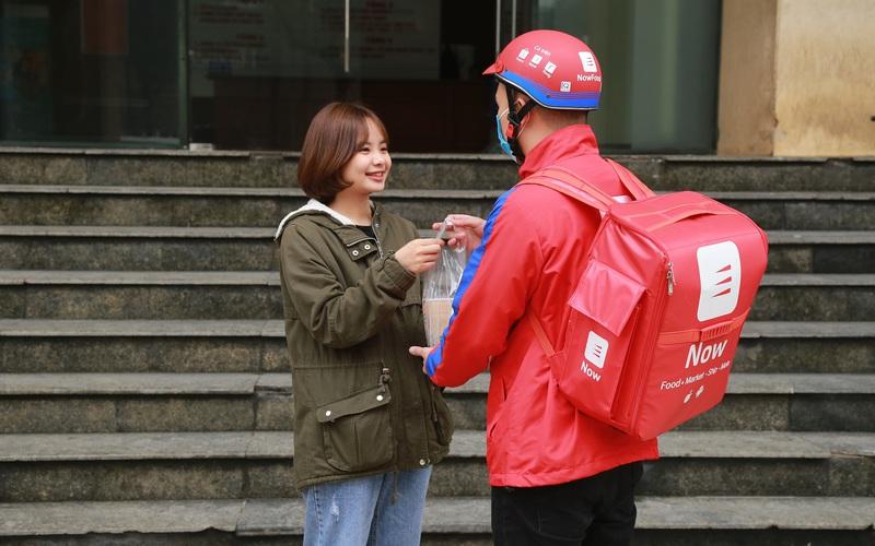 NowFood giao hơn 1 triệu món ăn và thức uống trong ngày 12.12