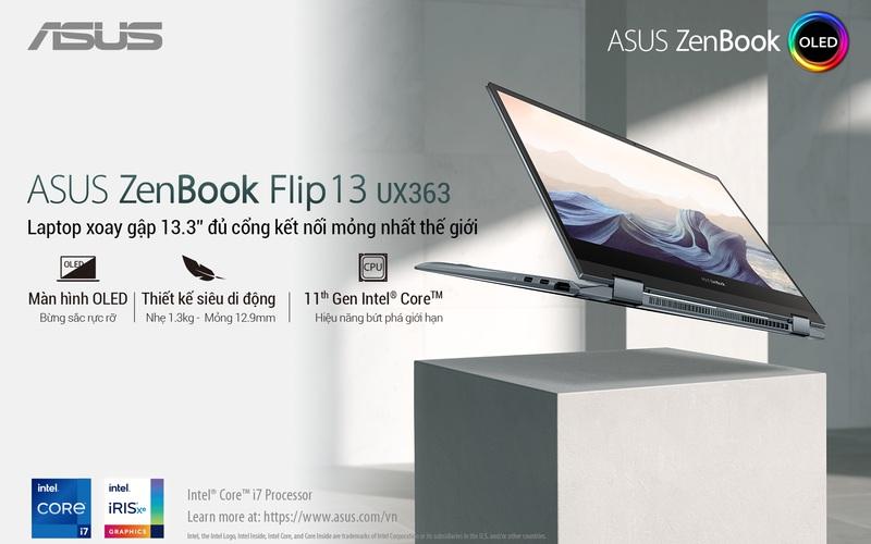 Trải nghiệm không giới hạn cùng ASUS ZenBook Flip 13 OLED