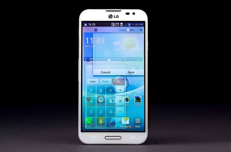 Đi trước Galaxy S IV, Optimus G Pro bất ngờ xuất hiện cảm ứng bằng mắt 1