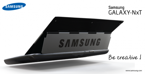 Galaxy NxT: Phablet màn hình 5,5 inch sở hữu bàn phím QWERTY 9