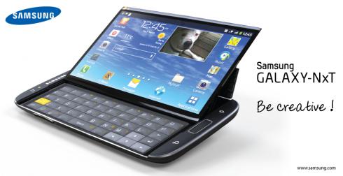 Galaxy NxT: Phablet màn hình 5,5 inch sở hữu bàn phím QWERTY 10