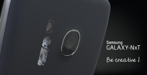 Galaxy NxT: Phablet màn hình 5,5 inch sở hữu bàn phím QWERTY 4