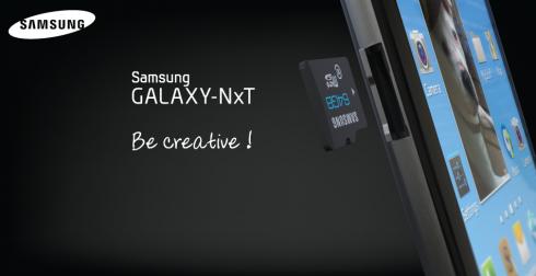 Galaxy NxT: Phablet màn hình 5,5 inch sở hữu bàn phím QWERTY 6