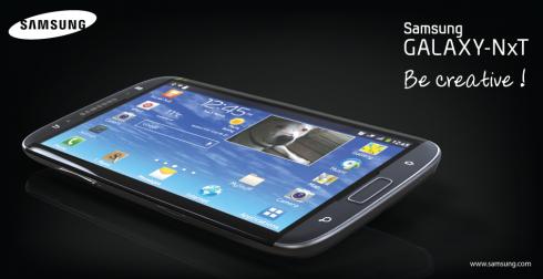 Galaxy NxT: Phablet màn hình 5,5 inch sở hữu bàn phím QWERTY 7
