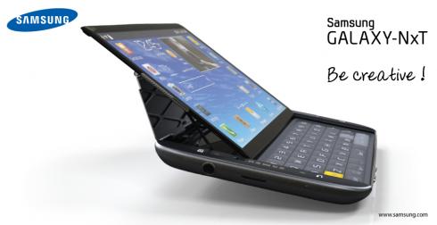 Galaxy NxT: Phablet màn hình 5,5 inch sở hữu bàn phím QWERTY 8