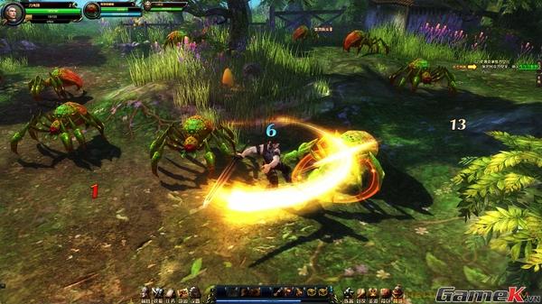Băng Hỏa Kỷ Nguyên - Một tựa game có bối cảnh phương Tây kỳ ảo 16