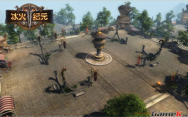 Băng Hỏa Kỷ Nguyên - Một tựa game có bối cảnh phương Tây kỳ ảo 3