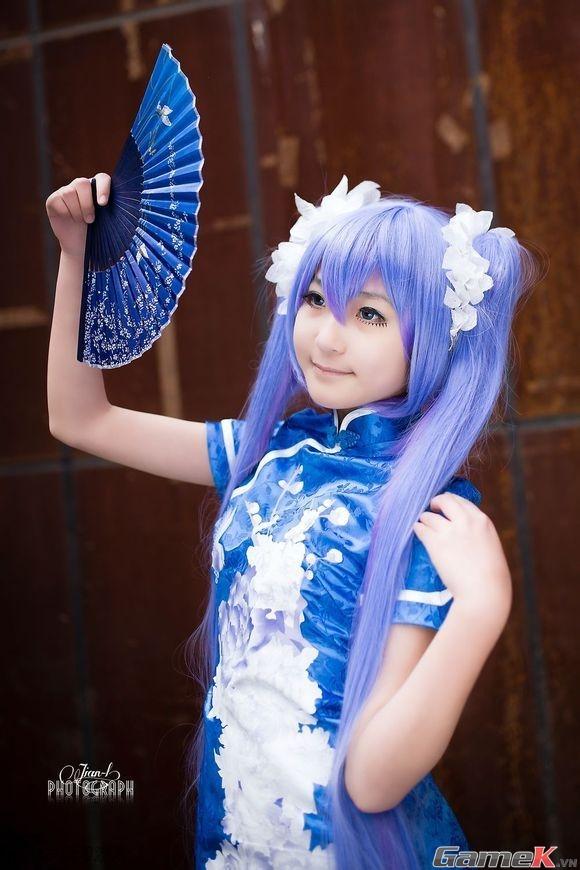 Chuỗi ảnh cosplay rất dễ thương từ Thành Đô 1