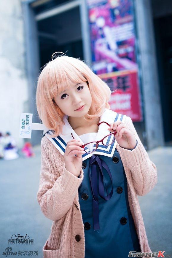 Chuỗi ảnh cosplay rất dễ thương từ Thành Đô 3