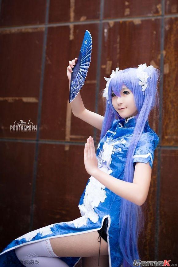 Chuỗi ảnh cosplay rất dễ thương từ Thành Đô 12