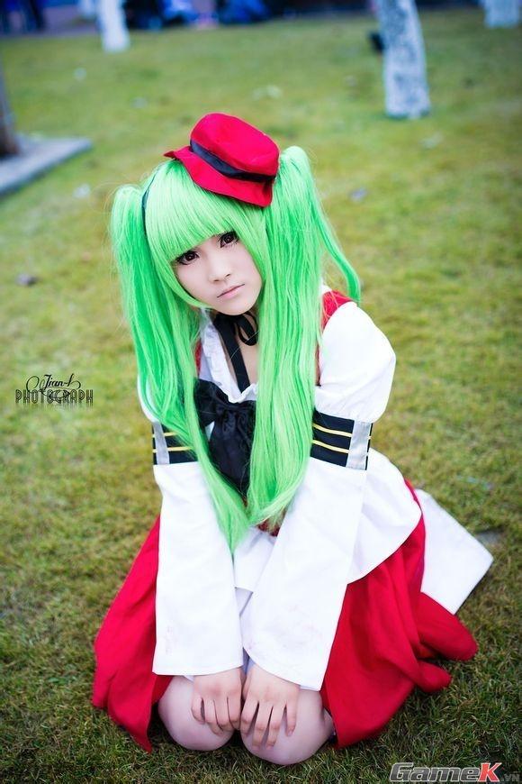 Chuỗi ảnh cosplay rất dễ thương từ Thành Đô 15