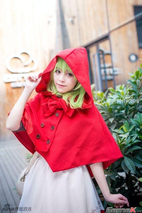 Chuỗi ảnh cosplay rất dễ thương từ Thành Đô 16