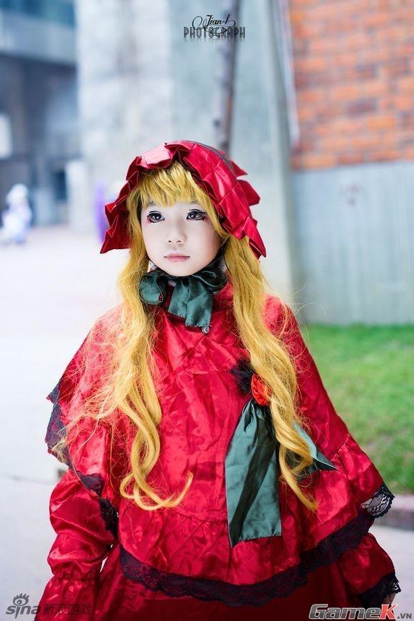 Chuỗi ảnh cosplay rất dễ thương từ Thành Đô 17