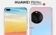 Lộ hình ảnh thiết kế đầu tiên của Huawei P50 Pro, trông như một bản thiết kế bị lỗi