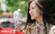 Dùng thử quạt phun sương cầm tay: Giá chỉ 100.000 đồng, liệu có mát hơn quạt mini của Xiaomi bán không?