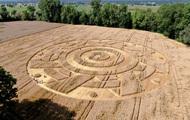 Phát hiện vòng tròn khổng lồ đột nhiên xuất hiện bí ẩn giữa cánh đồng tại Đức chỉ sau một đêm