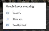 Ứng dụng Google gặp sự cố trên hàng loạt smartphone Android